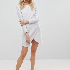 ASOS - Asymmetric Clean Shift Mini Dress